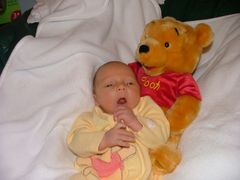 Roo with Pooh!