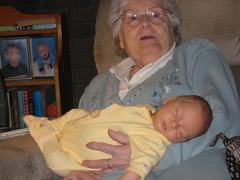 Great grandma Doeden