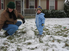 Playing in the Snow, December