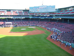 From the top of the Green Monster
